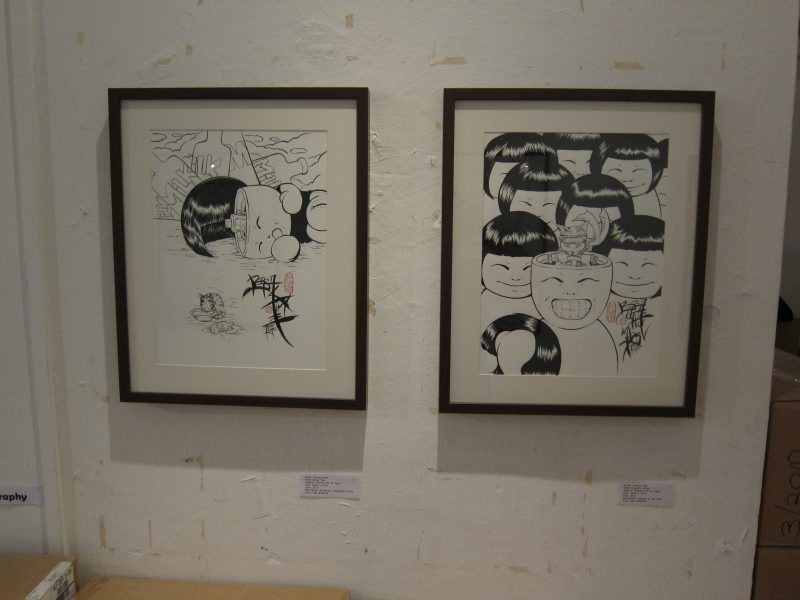 Terence Koh's artworks at the exhibition 03