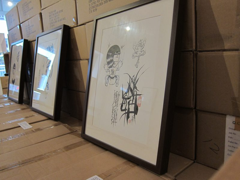 Terence Koh's artworks at the exhibition 04
