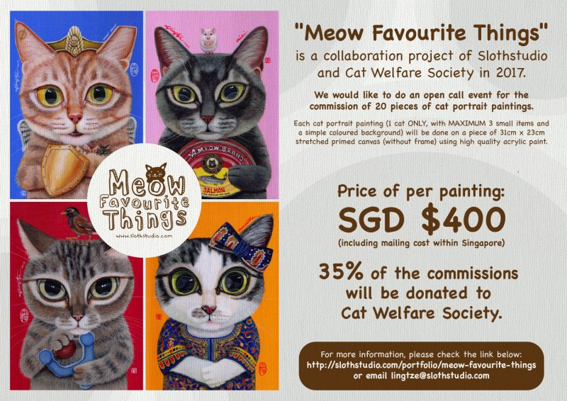 """""""Meow Favourite Things"""" Charity Project 2017"""