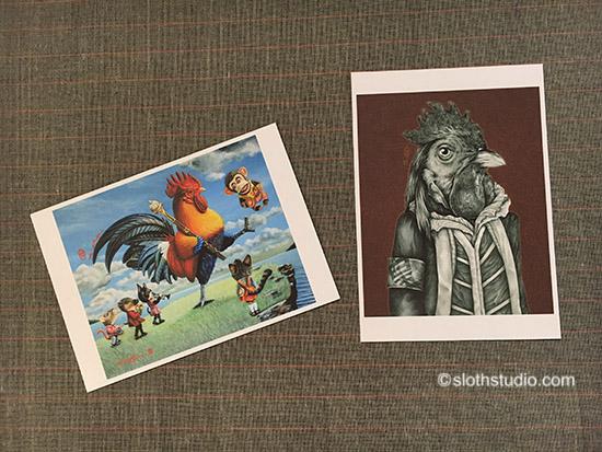 Little postcards cum invitation 01
