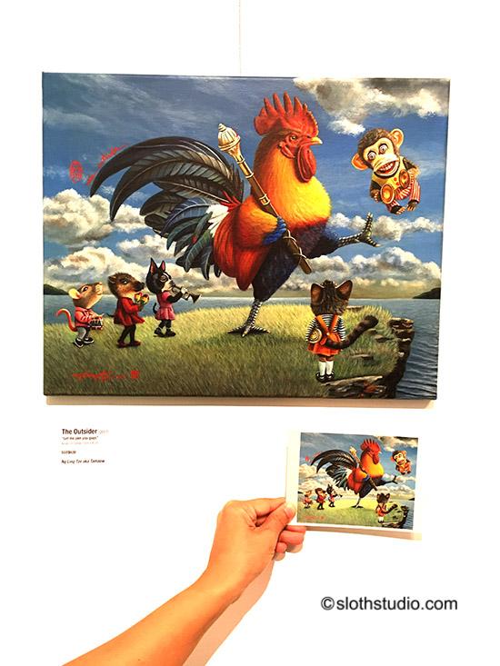 Little postcard cum invitation 03